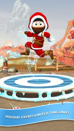 Fun Christmas apps for kids: Clumsy Ninja adds a limited time Christmas event