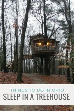 Things to do in Ohio- sleep in a treehouse at The Mohicans near Glenmont. Glamping, camping, or a unique lodging experie… – travel Best Family Vacations, Vacation Places, Dream Vacations, Vacation Spots, Places To Travel, Vacation Ideas, Midwest Vacations, Travel Things, Greece Vacation