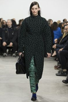 Proenza Schouler Fall Winter 2014 Look 16 - Amanda Murphy