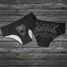 270ef758df08 Ouija Board / Horror / Witch / WitchCraft /Wiccan Panties / Halloween  Knickers Witch Board