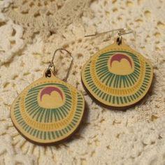 Polli Wooden Earrings