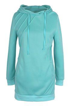 Cupshe Walk the Shine Hooded Long Sweatshirt