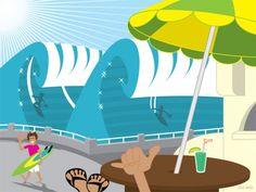 Surf & wave art #hossegor #surf #artsurf