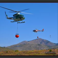 fire fighting helicopters | Antincendio - Fire fighting helicopter