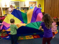 Parachute @ Lima Public Library