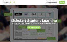 ClassKick. Plateforme d'apprentissage en ligne pour tablettes et ordinateurs – Les Outils Tice