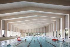 Gallery of Freemen's School Swimming Pool / Hawkins\Brown - 1