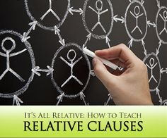 It's All Relative: How to Teach Relative Clauses and Why You Need To