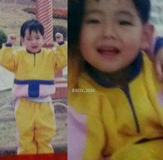 look @ his lil chubby cheeks Bts Bangtan Boy, Bts Boys, Bts Jungkook, Foto Bts, Bts Photo, Fanmeeting Bts, Bts Predebut, Childhood Photos, E Dawn