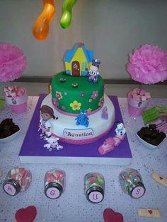 Doc mcstuffin cake - Torta doctora juguetes