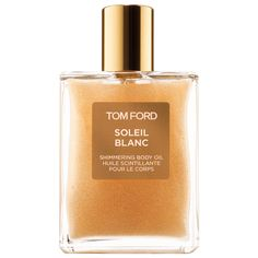 Shop Soleil Blanc Shimmering Body Oil by TOM FORD at Sephora. This oil delivers a sunkissed sheen with the decadent scent of Soleil Blanc.