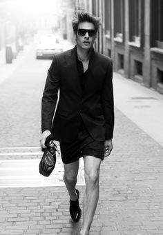 always about a shorts suit, as modeled by jon kortajarena. #themodman