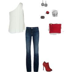 Need More Red Shoes, created by amy-devito-haustetter on Polyvore