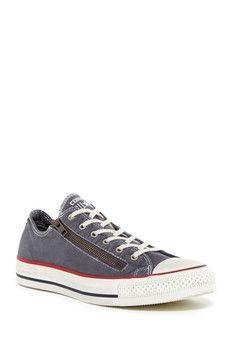 Converse Chuck Taylor Double Zip Oxford Sneaker (Unisex)