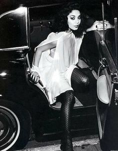 Vanessa Hudgens Does Bianca Jagger for InStyle March 2011 — Tiffany Lee Disco Fashion, 70s Fashion, Vanessa Hudgens, Most Beautiful Women, Beautiful People, Studio 54 Style, Miss Independent, Glamour Shoot, Bianca Jagger