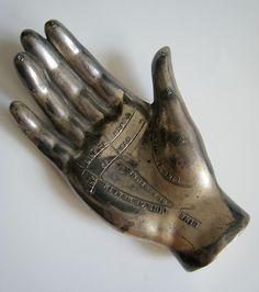 Palm reading hand.