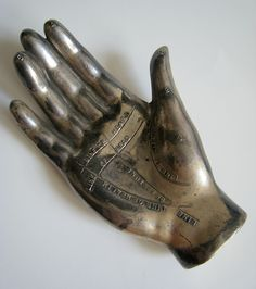 Palmistry Hand Paper Weight