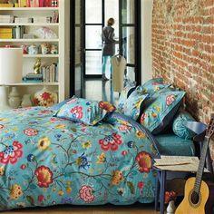 Pip studio floral fantasy blue duvet set From Only King Duvet Cover Sets, Duvet Sets, Duvet Covers, Blue Pillow Cases, Blue Pillows, Home Bedroom, Girls Bedroom, Bedroom Decor, Master Bedroom