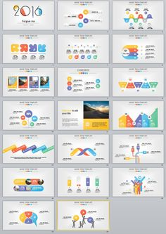 20+ multicolor chart PowerPoint Templates | PowerPoint Templates and Keynote Templates