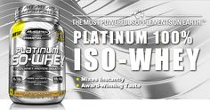 Platinum Iso-Whey uses only ultra-pure, microfiltered whey protein isolates, the purest form of whey protein you can feed your body. Iso Whey, Whey Protein Isolate, Chocolate Peanut Butter, The 100, Pure Products