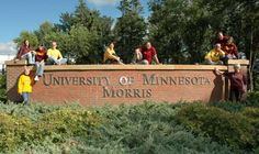 ....a graduate from the University of Minnesota, Morris.