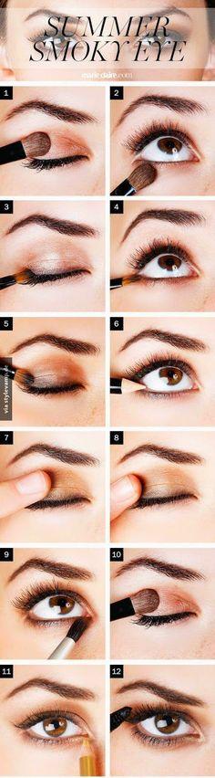 Der perfekte Augenaufschlag!