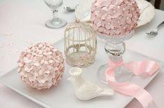 Tutorial: Paper Pomander - Flower Ball ideas-para-manualidades