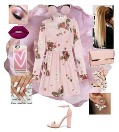"""""""💕💕💕"""" by evewalts16 ❤ liked on Polyvore featuring Cynthia Rowley, Steve Madden, Too Faced Cosmetics, Lime Crime, Casetify, New Look, RED Valentino, Fendi and Accessorize"""