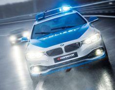 AC Schnitzer shows off polizei-spec Coupe Radios, Carros Bmw, Bmw Engines, Ac Schnitzer, Bmw I, Bmw 4 Series, Gas Monkey, Honda Crv, Emergency Vehicles