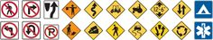 Traffic and Road Signs Test