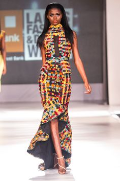 FAB Runway: Beatrice Black Atari at Lagos Fashion and Design Week 2013 #african_fashion #African #Fashion #Style #Ankara #kente