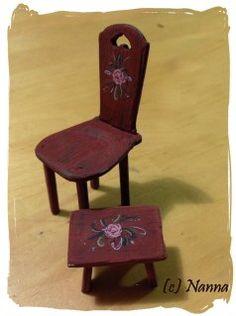 Nukkekodin hengetär - stool