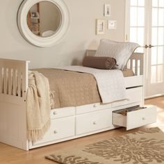Have to have it. Woodcrest Ethan Mission Trundle Bed $599.99