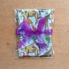 Liberty print Tana Lawn handkerchief in 'Queue for the Zoo' great for animal lovers!