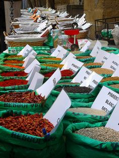 Spice Market, Granada, Spain.  Photo: mercados del mundo, via Flickr