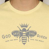 God save the queen  Save the bees Save the world  by MomGoodz, $26.00