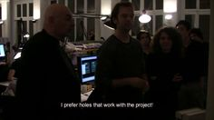 "Suscribe for updates on: www.thecompetitionmovie.com    Cast of participant architects:  Frank Gehry   Jean Nouvel  Zaha Hadid  Dominique Perrault  Norman Foster    Production team:  A production by Office for Strategic Spaces (OSS)   Director and Producer: Angel Borrego Cubero  Technical Director and Editor: Simon Lund  Assistants to edition: Gaël Urzáiz, Cristina Hortigüela  Music: popular song: ""When Johnny comes marching home""  Musical arrangements and production: César Bartolomé  Solo…"