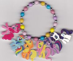 I actually may need this... My Little Pony Inspired Bracelet by Oseweverything on Etsy, $7.00
