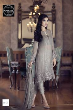 2015 Mbroidered Eid Maria B Dresses Gallery