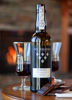 Port Wine + dark chocolate = :-)