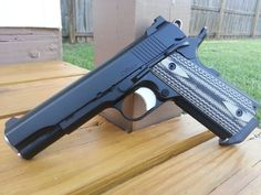 Dan Wesson 1911 Loading that magazine is a pain! Get your Magazine speedloader today! http://www.amazon.com/shops/raeind