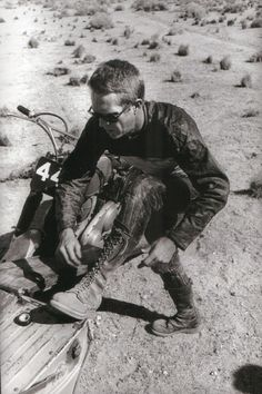 The king of cool: Steve McQueen