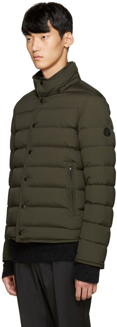 Moncler - Green Down Nazaire Coat