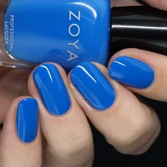 Zoya Barefoot Summer 2019 Collection >> Nail Polish Society Cute Nail Polish, Zoya Nail Polish, Nail Polish Trends, Nail Polish Designs, Summer Nail Polish Colors, Nail Designs, Almond Acrylic Nails, Summer Acrylic Nails, Almond Nails