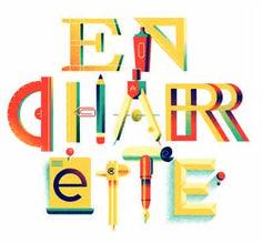 """Иллюстрация """"En Charrette"""" представляет собой выражение, используемое в архитектуре."""