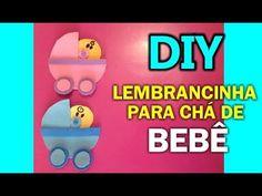 ★ Lembrancinha de Chá de Bebê ♥ Artesanato, decoração, DIY - Hellen Chagas♥