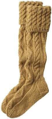 ShopStyle: Cabled Hand Knit Socks