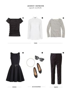 How an Audrey Hepburn–Inspired Capsule Wardrobe Gave Me My Confidence Back - Verily Audrey Hepburn Mode, Audrey Hepburn Inspired, How To Have Style, My Style, Capsule Wardrobe, Look Fashion, Fashion Outfits, Fashion Trends, Winter Typ