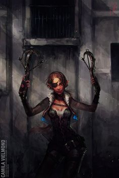 - The Arbalestier - by vielmond on deviantART