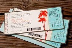 Image result for boarding card invitation